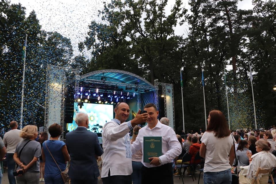 Київщина святкувала День незалежності у Бучі