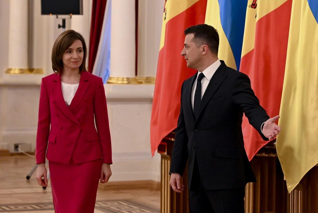 Президенти України та Молдови підписали двосторонні документи