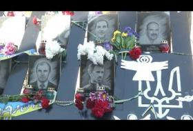 Вбудована мініатюра для Порошенко і Туск вшанували пам'ять Героїв Небесної сотні